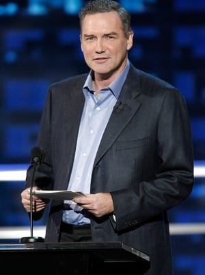 """ORG XMIT: NYET473 FILE - In this Aug. 3, 2008 file photo, actor and comedian Norm MacDonald is shown  at the """"Comedy Central Roast of Bob Saget"""" in Burbank, Calif. (AP Photo/Dan Steinberg, file)"""