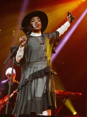 Singer/songwriter Lauryn Hill