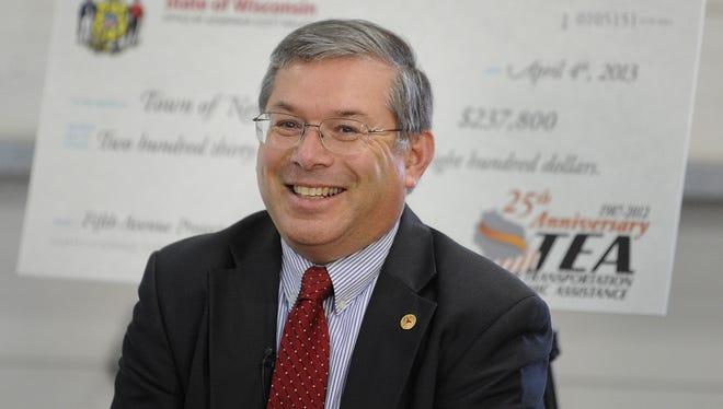 Wisconsin Department of Transportation Secretary Mark Gottlieb.