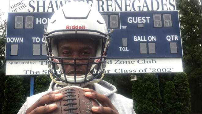 Shawnee senior Daevon Robinson will play multiple positions on both sides of the ball this season.