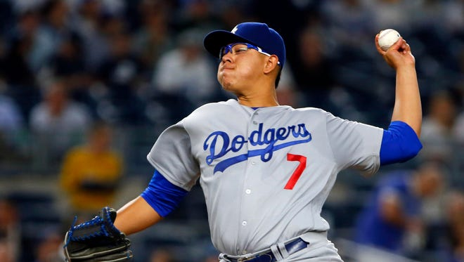 After the All-Star break last season, Dodgers pitcher Julio Urias went 4-0 with a 1.99 ERA in 40 2/3 innings.