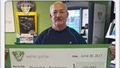 Donald Spencer recently won $150,000 on a scratcher ticket, the Virginia Lottery said Thursday.