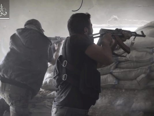 Syria Ghouta Fighters