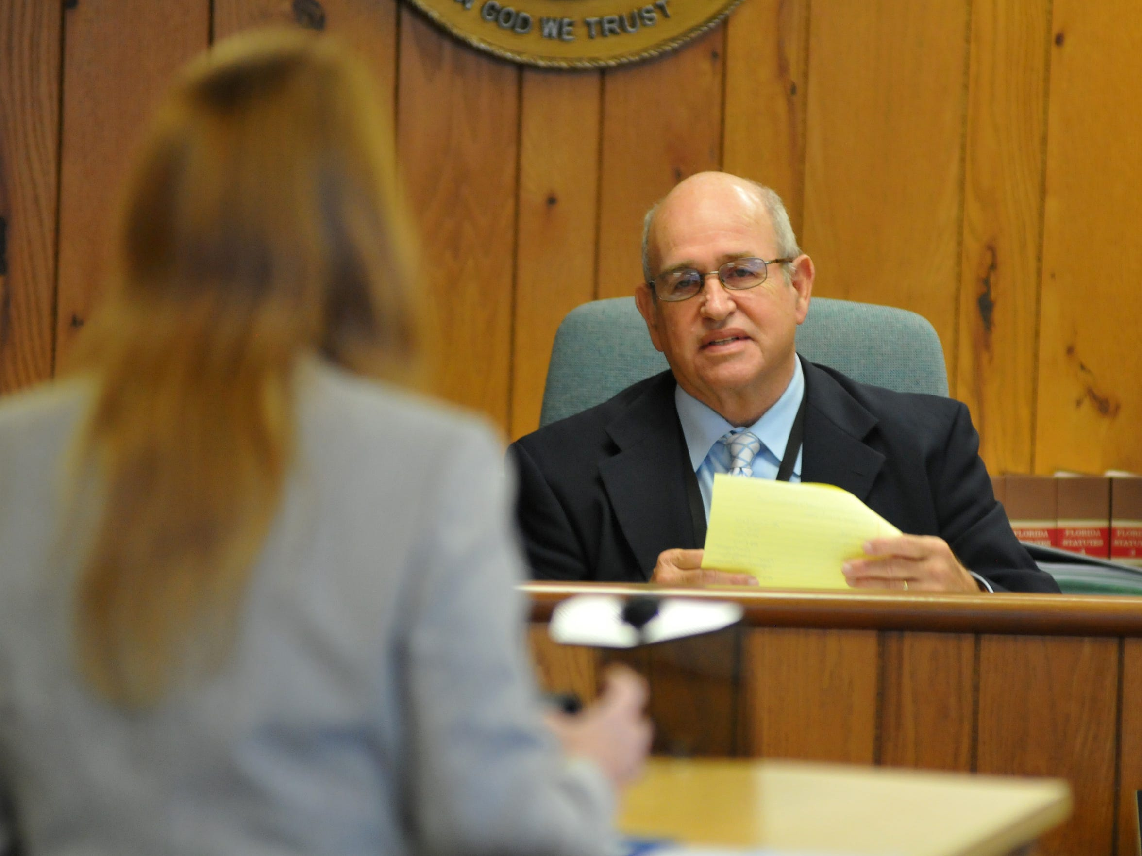 Retired Judge Dean Moxley prosecuted Ramos, Dedge and