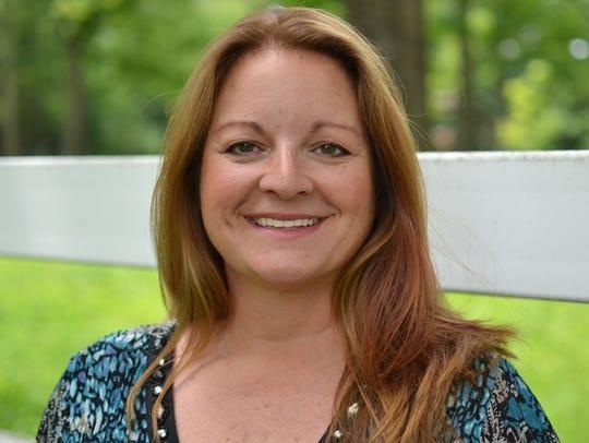 Mason author and teacher Kristine Brickey.