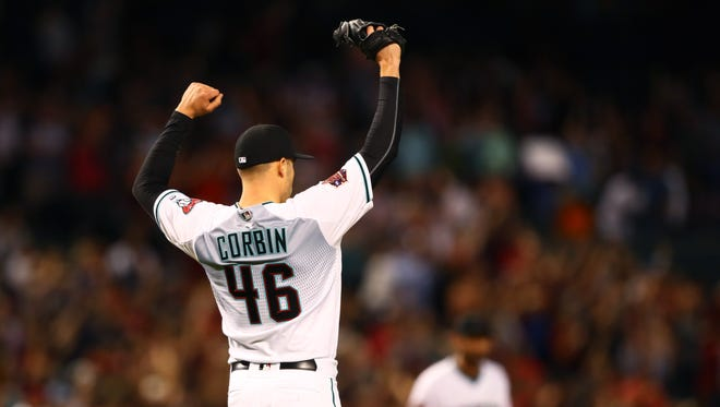 Patrick Corbin threw the first shutout by a lDiamondbacks eft-hander at Chase Field since Randy Johnson in 2003.