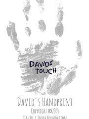David's Touch logo.