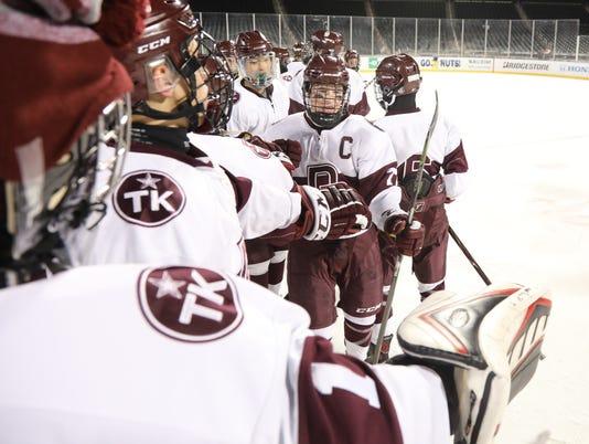 Don Bosco vs The Hun School -- Outdoor hockey at Citi Field