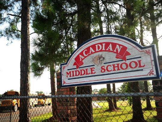 Acadian Middle currently has vacancies for a math teacher and English master teacher, as of January 18, 2019.