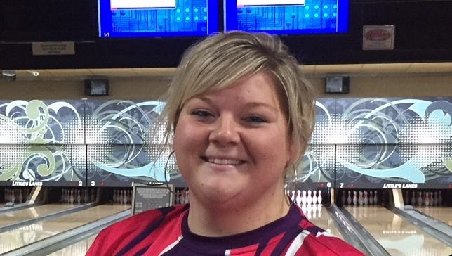 Kalee Tripp of Butte rebounded from a first-frame spare to hit her next 11 strikes for a 290 to defeat Falicia Wong of Calgary at the Ladies' Scratch Classic at Little's Lanes this past weekend.
