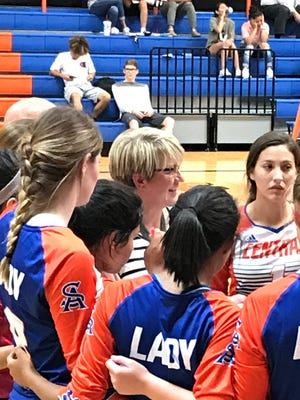 The Central High School volleyball team swept Odessa High on Friday, Oct. 6, to improve to 24-7 overall, 5-3 in District 2-6A.