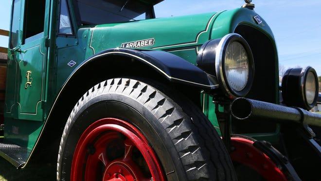A1924 restored Larrabee-Deyo Motor Truck is owned by local resident James Kocak.