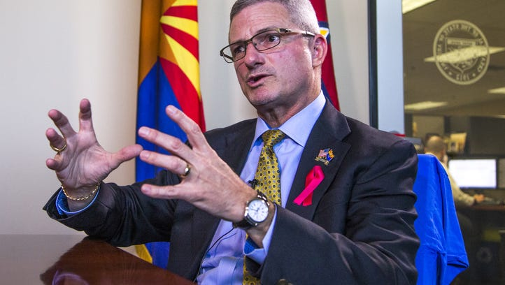 Former DES chief Tim Jeffries, onetime aide sue Arizona for libel