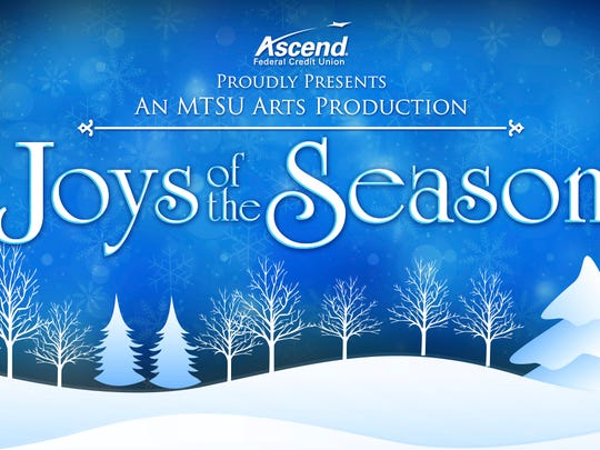 'Joys of the Season' will showcase performing arts today at MTSU>