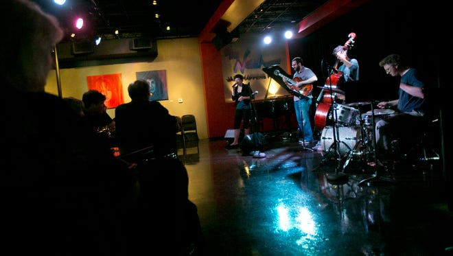 A mix of students and professionals plays every Sunday during an open jam session at the Nash in Phoenix.