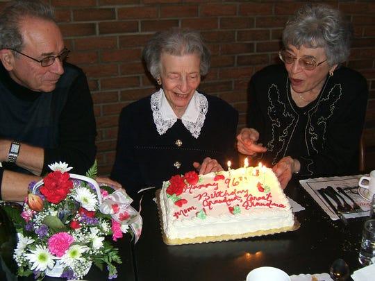 Mary Dinola made sure everyone felt special on their birthday.