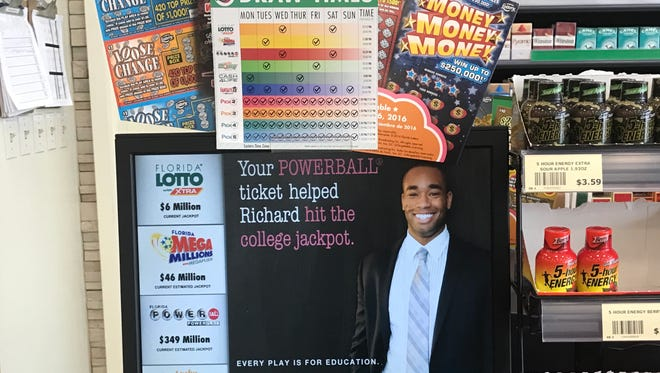 The Florida Lottery funds Bright Futures scholarships.