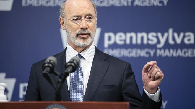 Gov. Tom Wolf has issued preliminary guidance for sports to resume in Pennsylvania. PHOTO FROM THE OFFICE OF GOV. TOM WOLF