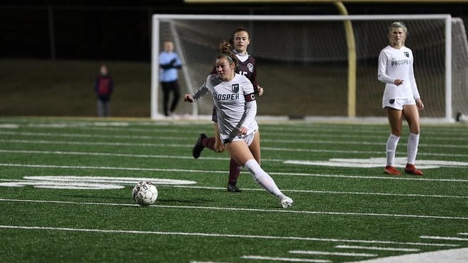 Reese Cross, a Prosper High School senior and soccer player, plans to study nursing at Texas A&M University - Corpus Christi.
