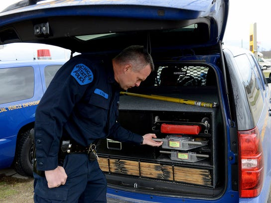 Michigan weighs less trucks than other states but more for Ohio motor carrier enforcement
