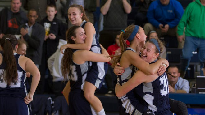 Manasquan vs Westwood in Girls Group 2 Championship on March 15, 2015 in Toms River. Peter Ackerman/Staff Photographer