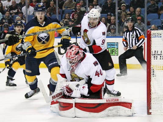 Senators Sabres Hockey