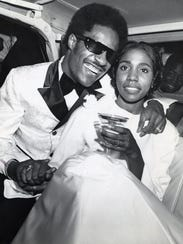 "Stevie Wonder and Syreeta Wright, co-writer of ""Signed"
