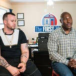 Two men share their journeys from prison to starting again