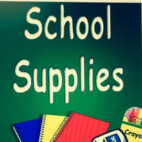 The deadline to provide donations or school supplies for Matlock Supply's drive to help students in flooded areas is 2 p.m. Wednesday.
