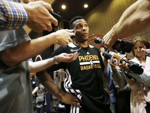 Jeremy Bauman of DraftSite.com, a USA TODAY Sports affiliate, ranks and reviews the 20 best point guards in the 2014 NBA draft. Where does he put former ASU and Mesa High point guard Jahii Carson?