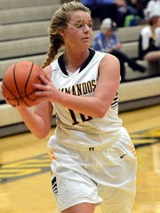 Hendersonville High senior Joslyn Jarrett made a 3-pointer in the final minute to give the Lady Commandos a 37-35, season-opening victory over visiting Westmoreland on Tuesday evening.