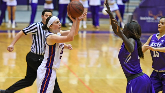 NSU senior Beatrice Attura scored 30 points Saturday in a 75-74 loss to Abilene Christian in Prather Coliseum. Attura is the first Lady Demon to post consecutive 30-point games since Joskeen Garner in 1994.
