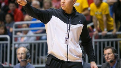Shadow Mountain basketball coach Mike Bibby still has game. He has helped Pedro's Posse to the Super 16 of the  $2 million winner-take-all Basketball Tournament