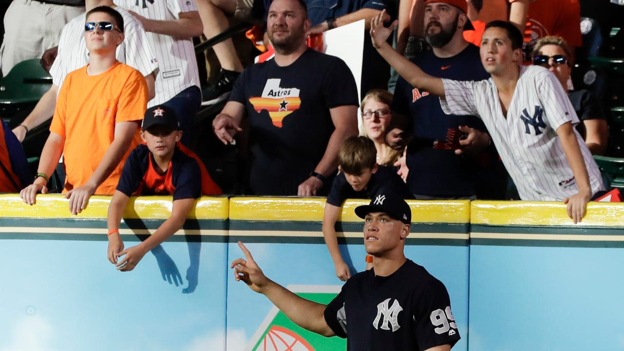 Record Yankees beat writer Pete Caldera and Record baseball writer Matt Ehalt talk about Game 7 of the ALCS between the Yankees and the Astros in Houston, Saturday, Oct. 21, 2017.