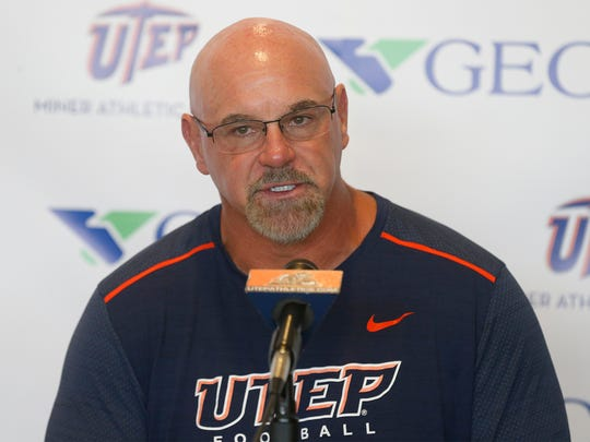 UTEP head coach Sean Kugler address Saturday night's