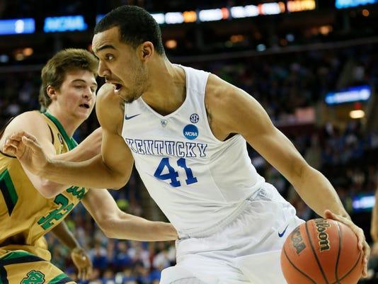 NCAA Basketball: NCAA Tournament-Midwest Regional-Notre Dame vs Kentucky