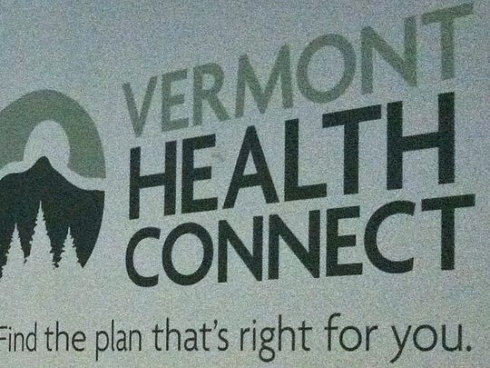 Vermont Health Connect logo.