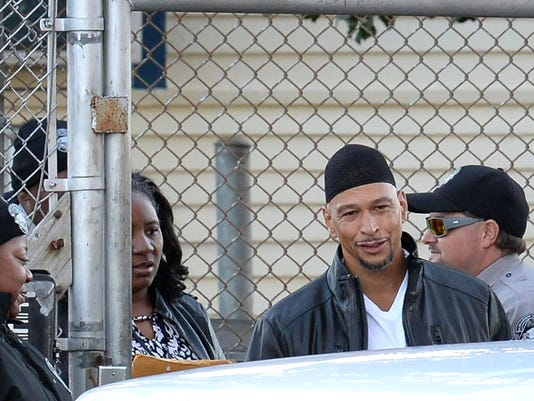 Rae Carruth released from prison after serving 19 years in murder of Cherica Adams