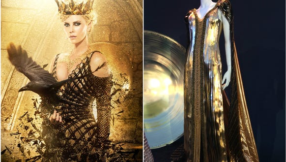 Charlize Theron's Ravenna wears this outfit after emerging