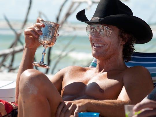 "Matthew McConaughey co-stars in ""Magic Mike."""