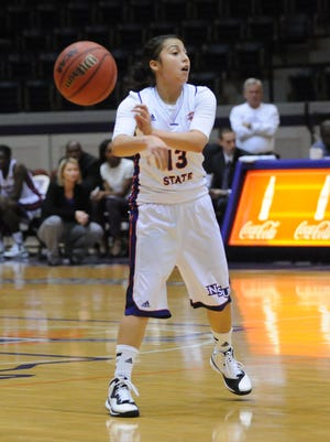 Northwestern State junior point guard Janelle Perez and the Lady Demons look to improve to 4-0 in the Southland Conference when they host Incarnate Word on Saturday.