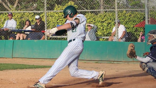 Moorpark High's Brian Guy was named the co-Player of the Year in the Coastal Canyon League.