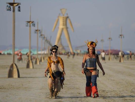Burning Man Monday