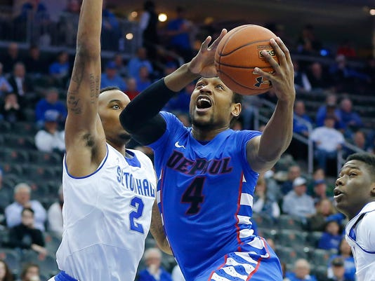 NCAA Basketball: DePaul at Seton Hall
