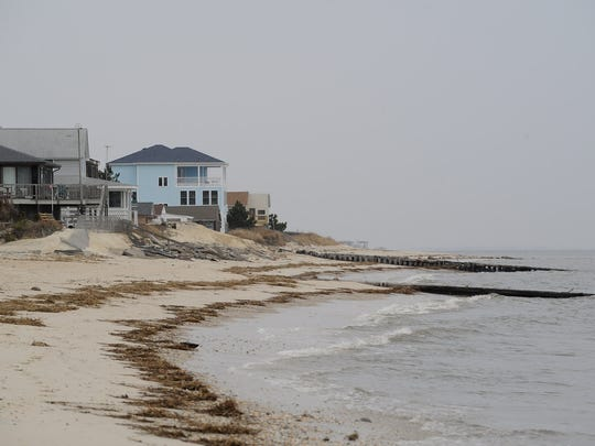 """Anthony Pratt, shoreline manager for Delaware's Department of Natural Resources and Environmental Control, said once work is done, Broadkill Beach will in some places be wider than the """"phenomenally wide"""" beach that emerged from a shoreline restoration at Rehoboth Beach and Dewey Beach in 2005."""