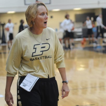 Purdue Women's Basketball assistant coach Beth Couture