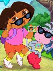 Secret Agent Dora the Explorer.