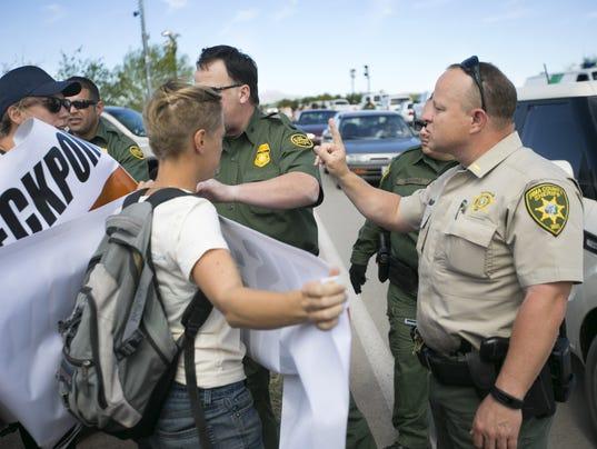 Arivaca Border Patrol Checkpoint