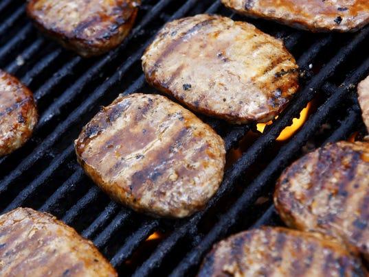 Pork burgers