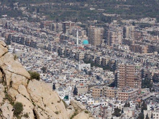 AP MIDEAST SYRIA I FILE SYR